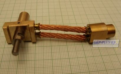 Holder for power contact assembly