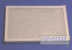 Filter for generator housing 497x248x20 mm