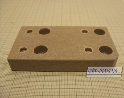Isulater Plate lower 73 x 39 x 12 mm