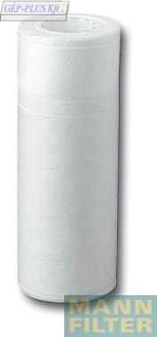 Feinfilter keine Rillen  65x26x248 mm weiss