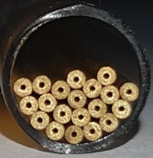 Startloch-Röhrchen Messing TL 0,3 mm 300 mm